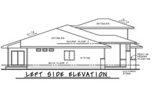 Dream House Plan - Contemporary Exterior - Other Elevation Plan #20-2428