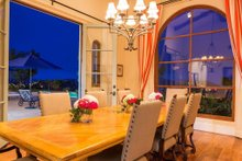 Architectural House Design - Mediterranean Interior - Dining Room Plan #484-8