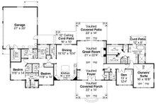 Ranch Floor Plan - Main Floor Plan Plan #124-1115