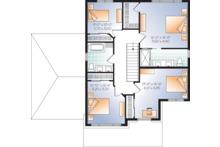 Craftsman Floor Plan - Upper Floor Plan Plan #23-2659