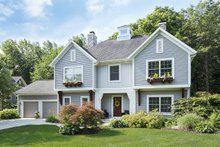 Dream House Plan - Traditional Exterior - Front Elevation Plan #901-91