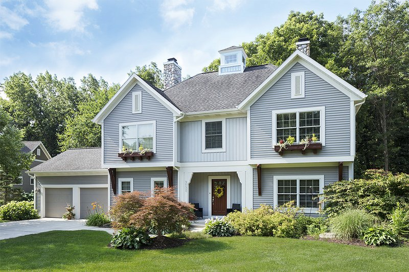 Home Plan - Traditional Exterior - Front Elevation Plan #901-91