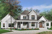 House Plan Design - Traditional Exterior - Front Elevation Plan #23-543