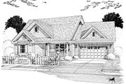 Cottage Style House Plan - 3 Beds 2 Baths 1788 Sq/Ft Plan #513-2049 Exterior - Other Elevation