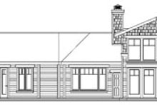 Dream House Plan - Craftsman Exterior - Rear Elevation Plan #124-737