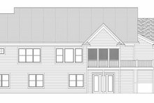 Traditional Exterior - Rear Elevation Plan #51-348