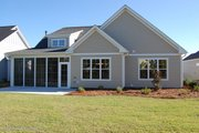 Country Style House Plan - 3 Beds 2 Baths 1784 Sq/Ft Plan #929-784 Exterior - Rear Elevation