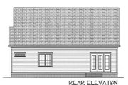 Cottage Style House Plan - 3 Beds 2.5 Baths 2021 Sq/Ft Plan #413-805 Exterior - Rear Elevation