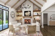 House Design - Farmhouse Interior - Family Room Plan #119-436