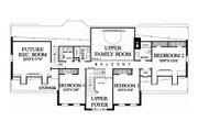 Southern Style House Plan - 4 Beds 3 Baths 3305 Sq/Ft Plan #137-192 Floor Plan - Upper Floor Plan