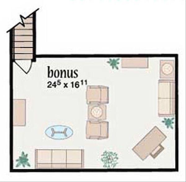 Ranch Floor Plan - Other Floor Plan Plan #36-477