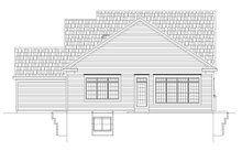 House Plan Design - Traditional Exterior - Rear Elevation Plan #20-2445