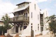 Mediterranean Style House Plan - 4 Beds 4 Baths 2831 Sq/Ft Plan #536-6