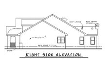 Home Plan Design - Country Exterior - Other Elevation Plan #20-1211