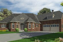 House Plan Design - Traditional Exterior - Other Elevation Plan #437-53