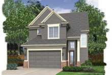 Dream House Plan - Traditional Exterior - Front Elevation Plan #48-136