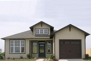 Traditional Style House Plan - 2 Beds 2 Baths 1389 Sq/Ft Plan #63-150