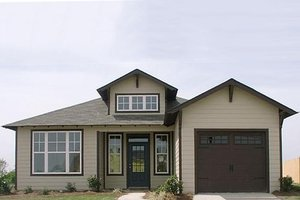 Traditional Exterior - Front Elevation Plan #63-150
