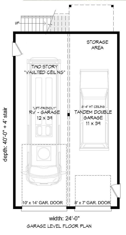 Dream House Plan - Contemporary Floor Plan - Main Floor Plan #932-246