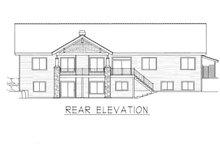 Home Plan - Farmhouse Exterior - Rear Elevation Plan #112-167