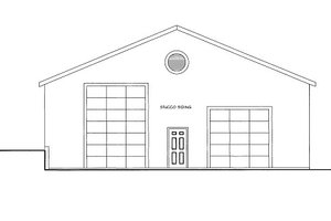 Traditional Exterior - Front Elevation Plan #117-688