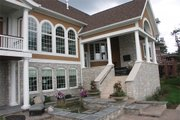 Traditional Style House Plan - 5 Beds 5 Baths 6439 Sq/Ft Plan #458-1 Exterior - Rear Elevation
