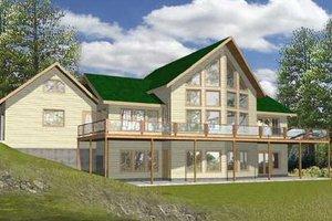 Modern Exterior - Front Elevation Plan #117-135