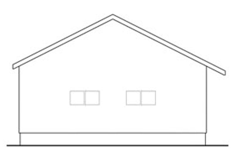 Traditional Exterior - Other Elevation Plan #124-630 - Houseplans.com