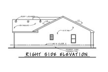 Dream House Plan - Traditional Exterior - Other Elevation Plan #20-2381