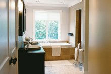 Farmhouse Interior - Master Bathroom Plan #23-587