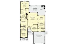 Contemporary Floor Plan - Main Floor Plan Plan #930-494