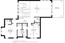 Traditional Floor Plan - Upper Floor Plan Plan #895-59
