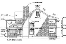 Southern Exterior - Other Elevation Plan #120-157