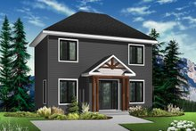 Dream House Plan - European Exterior - Front Elevation Plan #23-610
