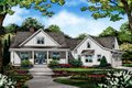 Farmhouse Style House Plan - 4 Beds 3.5 Baths 2596 Sq/Ft Plan #929-1054 Exterior - Front Elevation