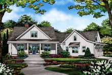 Farmhouse Exterior - Front Elevation Plan #929-1054