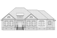 Ranch Exterior - Front Elevation Plan #1054-25