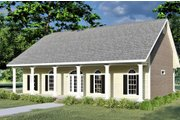 Country Style House Plan - 3 Beds 2 Baths 1735 Sq/Ft Plan #44-176 Exterior - Front Elevation