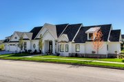 Ranch Style House Plan - 3 Beds 2 Baths 2784 Sq/Ft Plan #70-1467