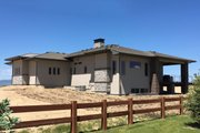 Ranch Style House Plan - 2 Beds 2 Baths 2200 Sq/Ft Plan #1069-5 Exterior - Rear Elevation