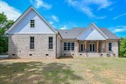 Farmhouse Style House Plan - 3 Beds 2 Baths 2469 Sq/Ft Plan #430-147 Exterior - Rear Elevation
