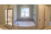 European Style House Plan - 3 Beds 2 Baths 1826 Sq/Ft Plan #430-122 Interior - Master Bathroom