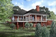 Traditional Style House Plan - 3 Beds 2.5 Baths 2607 Sq/Ft Plan #17-168