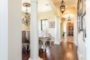 Mediterranean Style House Plan - 4 Beds 4.5 Baths 3474 Sq/Ft Plan #930-276 Interior - Laundry