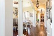 Mediterranean Style House Plan - 4 Beds 4.5 Baths 3474 Sq/Ft Plan #930-276 Interior - Laundry
