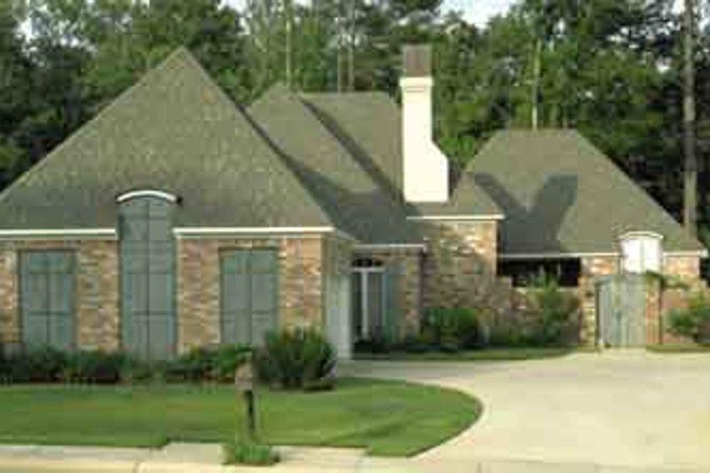 Dream House Plan - European Exterior - Front Elevation Plan #45-240