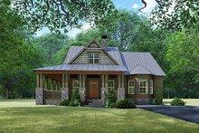 Dream House Plan - Craftsman Exterior - Front Elevation Plan #923-141