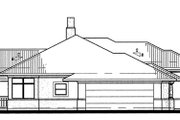 Prairie Style House Plan - 3 Beds 2 Baths 1830 Sq/Ft Plan #120-150 Exterior - Other Elevation