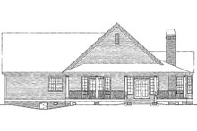 Dream House Plan - Country Exterior - Rear Elevation Plan #929-623