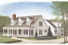 Home Plan - Southern Exterior - Front Elevation Plan #410-167